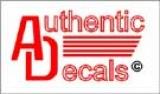 Authentic Decals