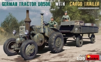 German Tractor D8506 with Cargo Trailer