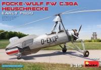 """Разведывательный Автожир Focke Wulf FW C.30A """"Grasshopper"""" (раннего производства)"""