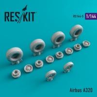 Airbus A320 смоляные колеса