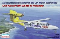 Пассажирский самолет BN-2A Mk.III Trislander Aurigny Air Services