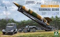Немецкая ракета с тягачом V-2 Rocket Transporter/Erector Meillerwagen+Hanomag SS100