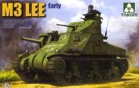 Американский танк M3 LEE ранний