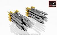 S-3K unguided missiles w/ APU-14U rack