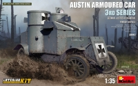 """Austin Armoured Car 3rd Series: German, Austro-Hungarian, Finnish Service. Interior Kit"""