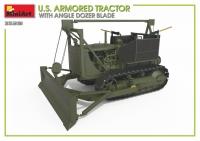 Американский бронированный трактор с бульдозерным отвалом