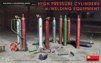 Баллоны высокого давления со сварочным оборудованием