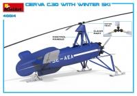 Автожир AVRO CIERVA C.30 на лыжах