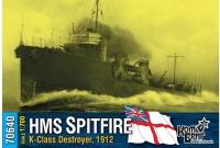 "Английский миноносец HMS ""Spitfire"" (K-Class), 1912 г."