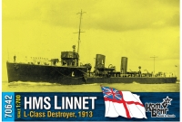 "Английский миноносец HMS ""Linnet"" (L-Class), 1913 г."