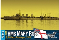 "Английский миноносец HMS ""Mary Rose"" (M-Class), 1915 г."