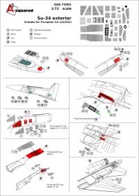 ФТД для самолета ОКБ Сухого тип 34 (экстерьер)