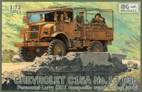 Chevrolet C.15A No.13 Cab Personnel Lorry (2H1 composite wood & steel body) Australian Pattern Wireless/Signals