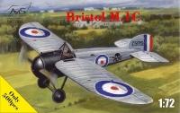 Самолет Bristol M1C череп