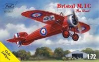 Самолет Bristol M1C Red devil