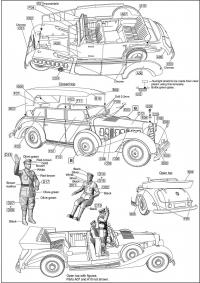 Автомобиль MB-770K Offener Tourenwagen