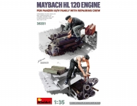 Maybach HL 120 Engine for Panzer III/IV Family w/Repair Crew