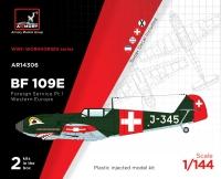 Самолет Messerschmitt Bf 109E ВВС Испании, Швейцарии, Югославии, Сербии