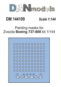 Маска для модели самолета Боинг 737-800