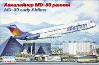 Авиалайнер MD-80 ранний Allegiant