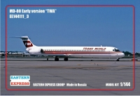 Авиалайнер MD-80 ранний TWA (Limited Edition)