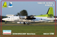 Fokker F-50 Air Baltic (Limited Edition)