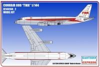Convair 880 TWA (Limited Edition)
