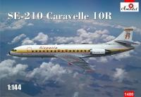Французский самолет Caravelle 10R