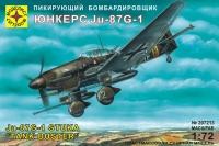 Пикирующий бомбардировщик Юнкерс Ju-87G-1
