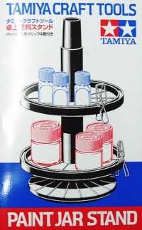 Model Paint Jar Stand Set
