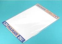 Пластиковые листы (белые матовые) толщиной 1,2мм (2шт.), полистирин 36,4 х 25,7см