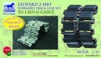 Leopard 2 MBT Workable Track Link Set