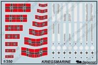 Декаль ВМФ Германии