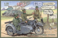 BMW R12 with sidecar - military version (2 in 1)