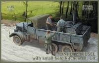 EINHEITSDIESEL + small field kitchen HF.14