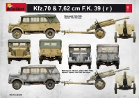 Армейский автомобиль Kfz.70 с пушкой 7,62 cm F.K. 39 (r)