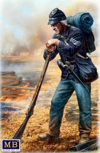 Короткий отдых. Сержант пехоты Потомакской армии, Геттисберг, июль 1863 г.