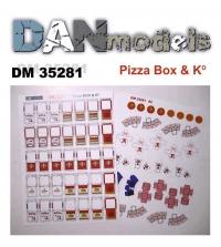 Упаковка для пиццы, попкорна и китайской еды