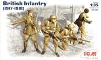 Британская пехота (1917-1918 гг.)
