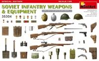 Советское пехотное оружие и амуниция