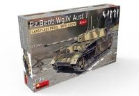 Немецкий командирский танк Pz.Beob.Wg.IV Ausf. J (поздний) с экипажем