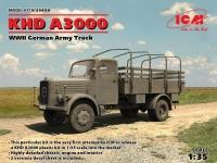 Германский армейский грузовой автомобиль KHD A3000, WWII