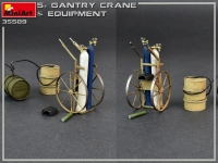 5-тонный козловой кран с оборудованием