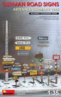 Дорожные знаки WWII (Арденны, Германия)