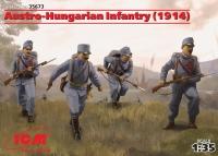 Пехота Австро-Венгрии (1914 г.) (4 фигуры)