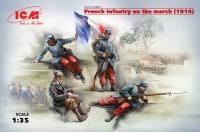 Французская пехота на марше (1914 г.)