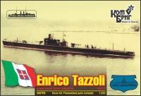 """Итальянская субмарина """"Enrico Tazzoli"""", 1936 г. Полный корпус."""