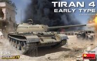 Израильский танк Tiran 4 ранний с интерьером