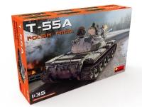 Танк Т-55А польского производства
