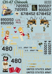 Декаль для CH-47 Chinook Ч. 1